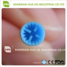 Синяя мягкая чашка Стоматологические силиконовые пробирки для использования на медленных скоростях