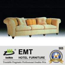 Nouveau canapé d'ameublement de chambre Canapé de salon en bois (EMT-SF40)