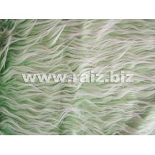 Длинная плюшевая ткань