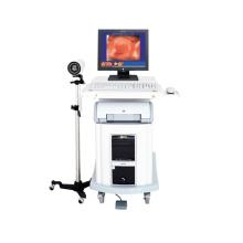 Carrito de diagnóstico de ginecología Vagina Colposcopio electrónico digital