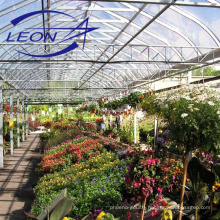 Leon series best selling agricultural multi span plastic greenhouse