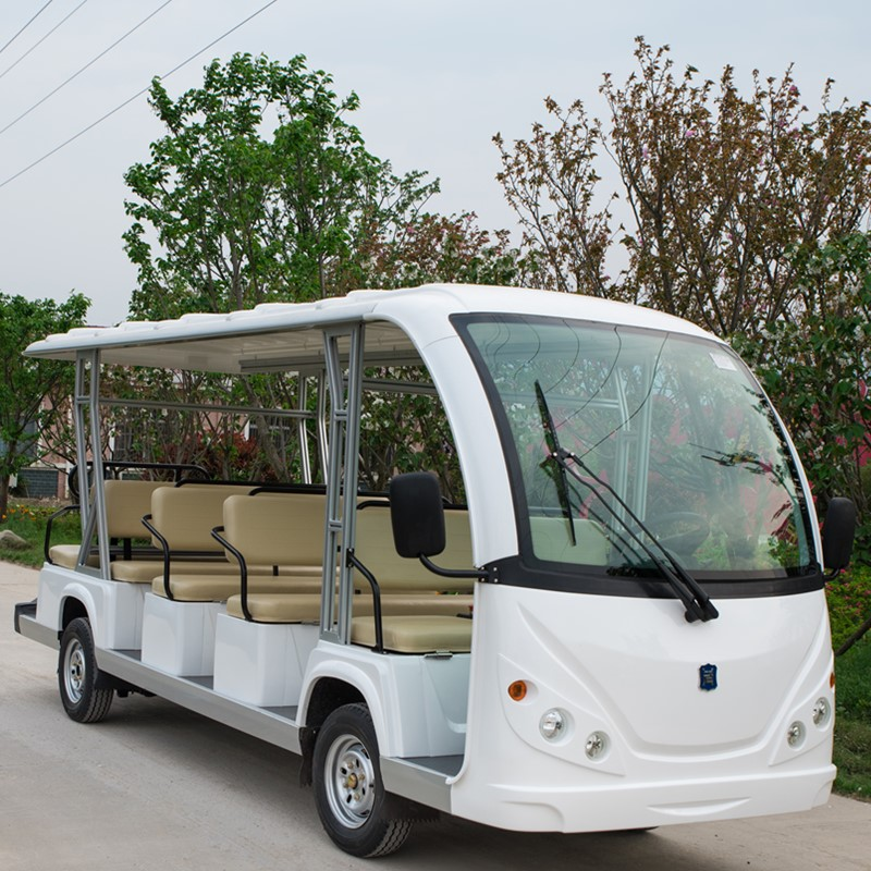 Golf hotel airport sightseeing electric shuttle bus
