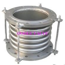 Joint axial de dilatation de soufflet en métal d'absorption de choc (compensateur de soufflet ondulé)