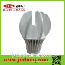 Design Especial Extrudado Anodizado Enclosure Led Street Light Round Aluminum Heatsink