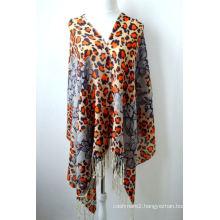 100% Digital Printed Merino Wool Scarf