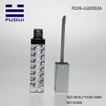Transparent Cosmetic Packaging Square Lip Gloss Tube