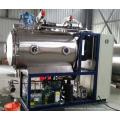 máquina de secado al vacío de microondas de acero inoxidable para frutos secos