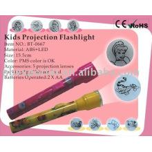 BT-0667 LED-Projektor-Taschenlampe