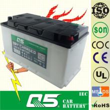 DIN100 12V100AH, batería de coche recargada seca con el servicio de tiempo de la larga vida