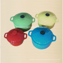FDA Ce SGS LFGB Aprovado Ferro Fundido Cookware Set