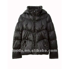 Fashion down jacket and coat for ladies with hood