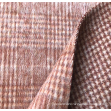 Wool Alpaca Blended Fabric Double Faced