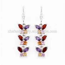 ailes de papillon boucles d'oreilles petites boucles d'oreilles en or conceptions pour les filles bijoux plaqués rhodium est votre bon choix
