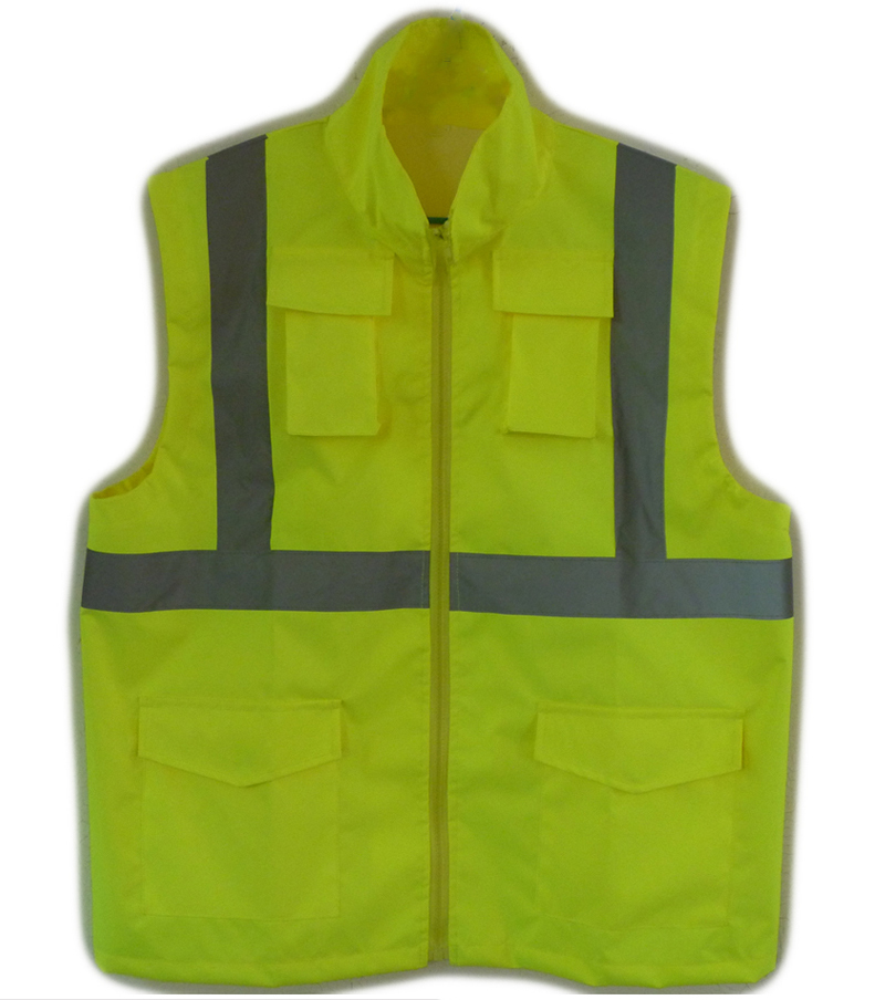 Hi Vis Reflective Safety Jackets for Worker Men