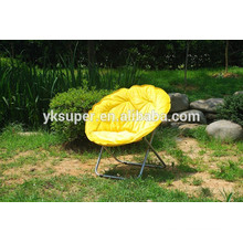 factory made! free sample Adult Camping Round Folding Chairs Outdoor cheap target Moon Chair