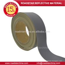 Alta intensidade não tecido refletivo PVC da espuma de couro
