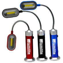 3watt de aluminio de luz de libro magnético Fllashlight luz de luz de trabajo de luz