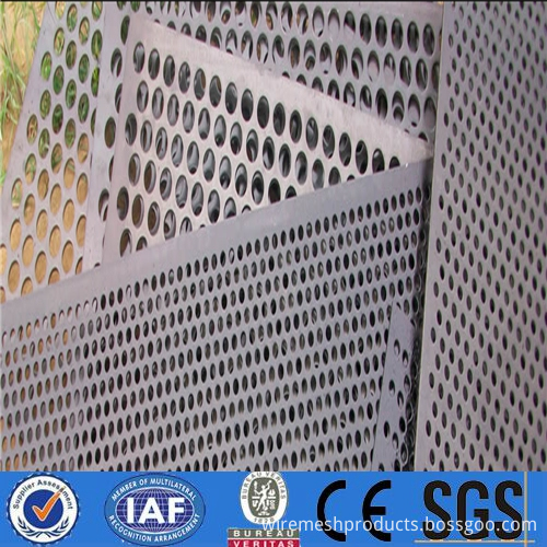 plate stretch Perforated metal