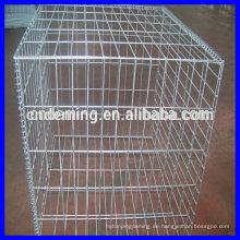 Heiß getaucht galvanisierte Gabion Käfig (große Fabrik & Exporteur)