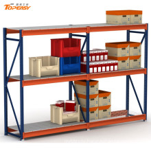 3 layer metal shelf rack for warehouse storage