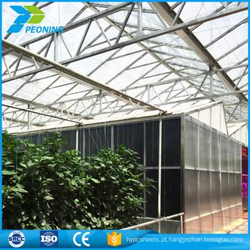 preço da folha de policarbonato, fornecedor de china de folha de estufa PC com boa qualidade