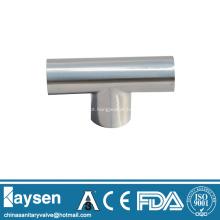 Conexões de tubulação de Tee sanitárias soldadas ISO1127