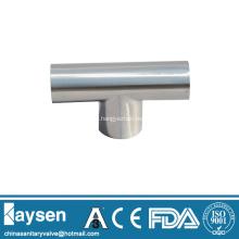 ISO1127 Sanitary welded Tee pipe fittings