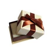 Small ring box jewelry box ribbon decoration