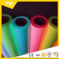 Película coloreada parte superior del abrigo del encogimiento del calor de la parte color resistanat del PVC con diseño modificado para requisitos particulares