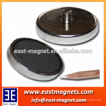 hot sales high quality ferrit magnet with thread neck