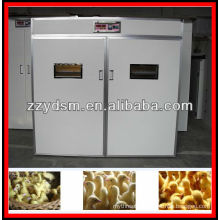 full automatic Mandarin ducks egg hatcher popular in 2012