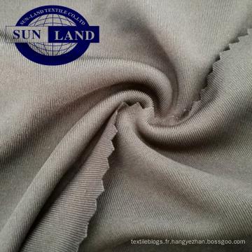 vêtement de sport t-shirt costume 100 tissu en tricot serré polyester interlock