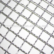 stainless crimped steel wire mesh/galvanized crimped wire mesh as fence