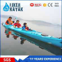 PE No Inflatable Racing Family Kayak para la venta
