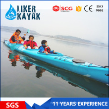 PE No Inflatable Racing Family Kayak for Sale