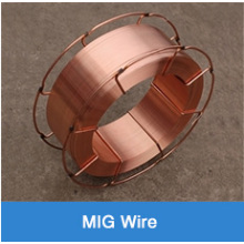 Copper plated CO2 gas shielded welding wire