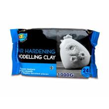 Serviço satisfatório Kids Art White Clay modelagem argila macia