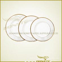 Juego de placas de cerámica Golden Line