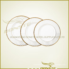Набор стальной керамической золотой линии
