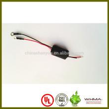 Chicote de fios de ferrite personalizado com terminal de anel