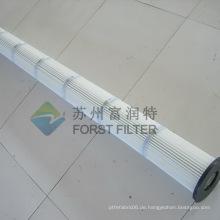 FORST gefaltete Luftfilterbeutelpatrone für industrielle Staubreinigung