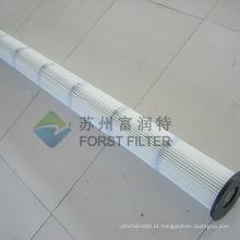 FORST Cartucho de filtro de ar plissado para limpeza industrial de pó
