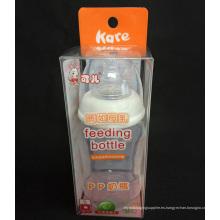 Caja plástica de encargo de la fábrica PVC / PP / PET para el embalaje del regalo (caja impresa)