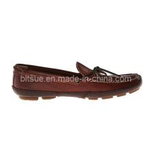 Chaussures de bateaux en cuir véritable pour la meilleure vente
