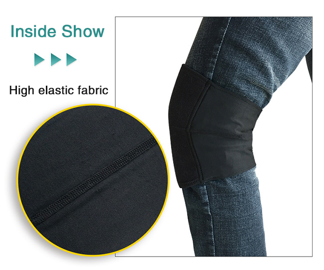 high elastic fabric knee strap