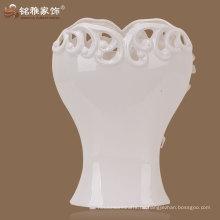 Porzellan Vase in weißer Farbe zum Werbepreis für Wohnkultur