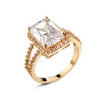 Atacado jóias de moda acessórios 2016 tendência produto liga de cobre zircon anel