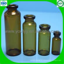 Amber Glass Frasco