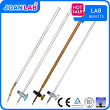 JOAN Lab Wholesaler Rubber Glass / PTFE Stopcock Burette