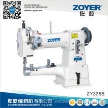 Zy335b sola aguja cama de cilindro resistente gancho grande máquina de coser